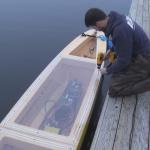 Monitoring a Robot Boat