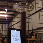 Tesla coil bus caps